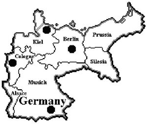 Map Of Germany 1900.Dp W2002a 1900 Germany